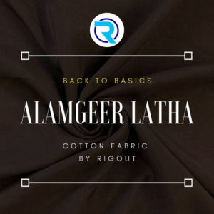 Alamgeer Latha fabric by RigOut